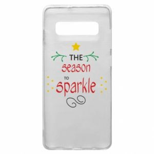 Etui na Samsung S10+ The season to sparkle