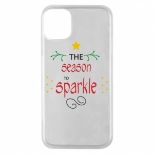 Etui na iPhone 11 Pro The season to sparkle