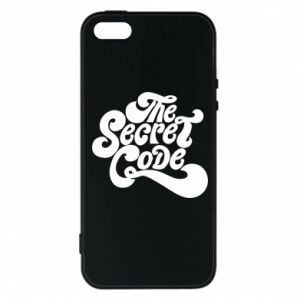 Etui na iPhone 5/5S/SE The secret code