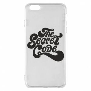 Etui na iPhone 6 Plus/6S Plus The secret code