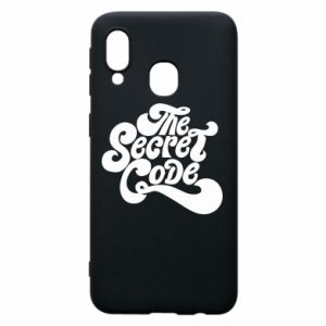 Etui na Samsung A40 The secret code