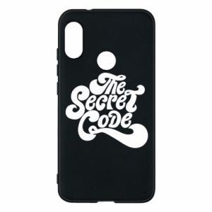 Etui na Mi A2 Lite The secret code
