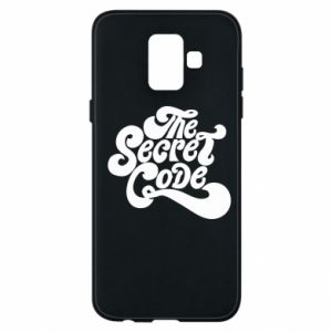 Etui na Samsung A6 2018 The secret code