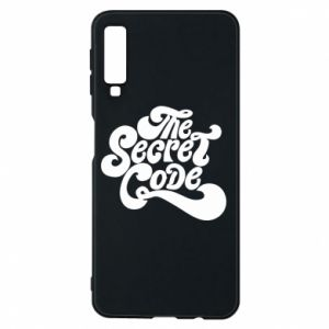 Etui na Samsung A7 2018 The secret code