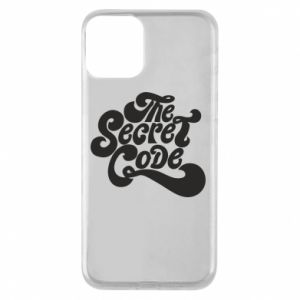 Etui na iPhone 11 The secret code