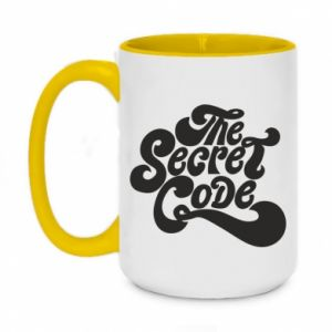 Kubek dwukolorowy 450ml The secret code