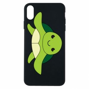 Phone case for iPhone Xs Max The turtle wants hugs - PrintSalon