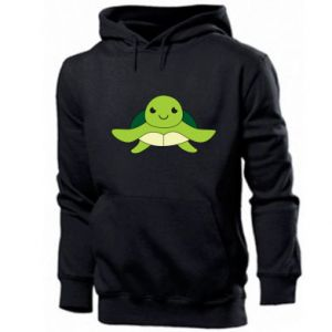 Men's hoodie The turtle wants hugs - PrintSalon