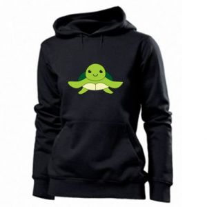 Women's hoodies The turtle wants hugs
