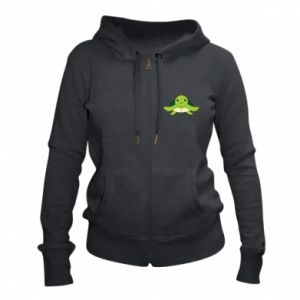 Women's zip up hoodies The turtle wants hugs - PrintSalon