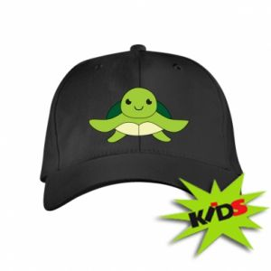 Kids' cap The turtle wants hugs - PrintSalon
