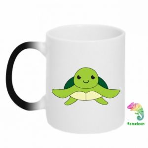 Chameleon mugs The turtle wants hugs