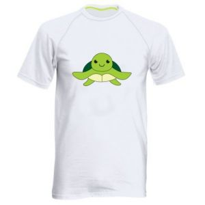 Men's sports t-shirt The turtle wants hugs - PrintSalon
