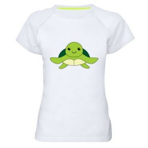 Women's sports t-shirt The turtle wants hugs