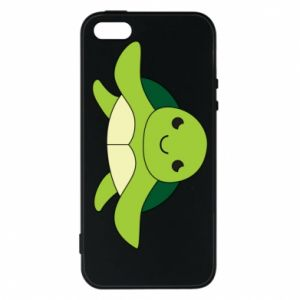 Phone case for iPhone 5/5S/SE The turtle wants hugs - PrintSalon