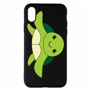 Phone case for iPhone X/Xs The turtle wants hugs - PrintSalon