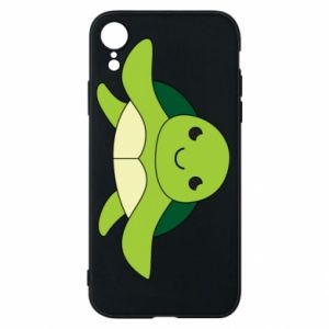 Phone case for iPhone XR The turtle wants hugs - PrintSalon