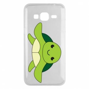 Phone case for Samsung J3 2016 The turtle wants hugs - PrintSalon