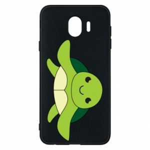 Phone case for Samsung J4 The turtle wants hugs - PrintSalon
