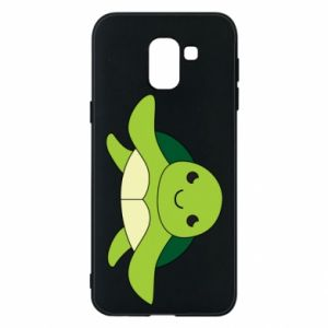 Phone case for Samsung J6 The turtle wants hugs - PrintSalon
