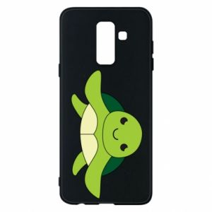 Phone case for Samsung A6+ 2018 The turtle wants hugs - PrintSalon