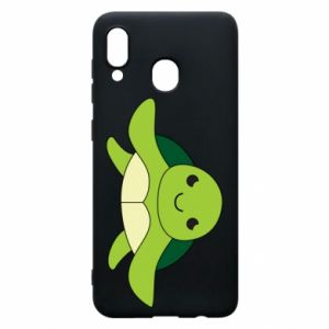Phone case for Samsung A20 The turtle wants hugs - PrintSalon