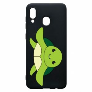 Phone case for Samsung A30 The turtle wants hugs - PrintSalon