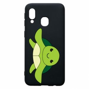 Phone case for Samsung A40 The turtle wants hugs - PrintSalon