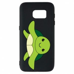 Phone case for Samsung S7 The turtle wants hugs - PrintSalon