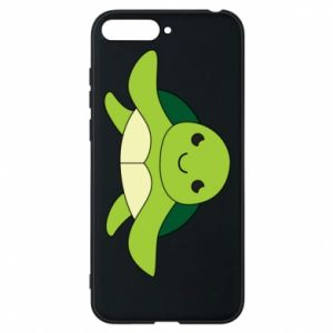 Phone case for Huawei Y6 2018 The turtle wants hugs - PrintSalon
