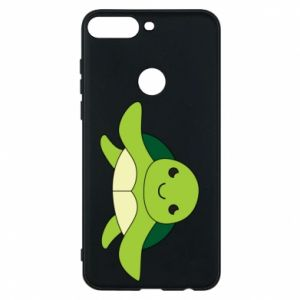 Phone case for Huawei Y7 Prime 2018 The turtle wants hugs - PrintSalon