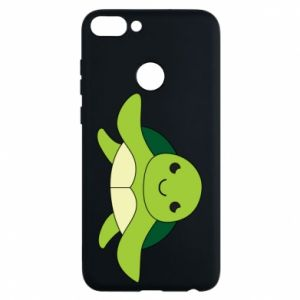 Phone case for Huawei P Smart The turtle wants hugs - PrintSalon