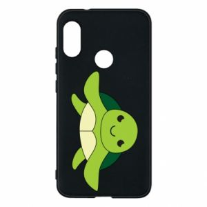 Phone case for Mi A2 Lite The turtle wants hugs - PrintSalon
