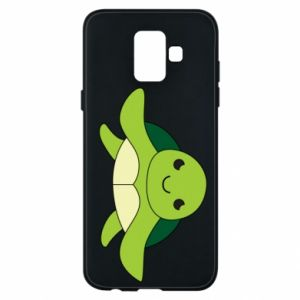 Phone case for Samsung A6 2018 The turtle wants hugs - PrintSalon