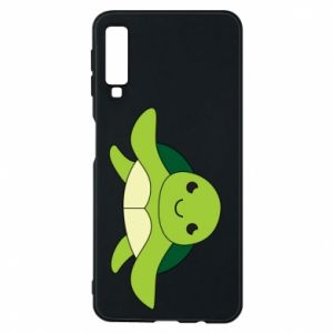 Phone case for Samsung A7 2018 The turtle wants hugs - PrintSalon