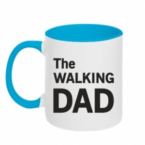 Two-toned mug The walking dad