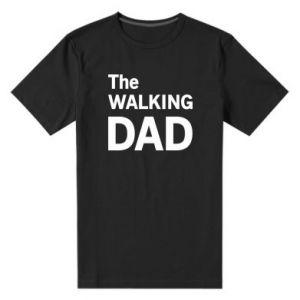 Męska premium koszulka The walking dad