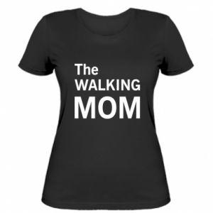 Damska koszulka The walking mom