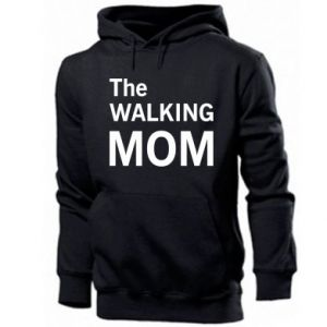 Męska bluza z kapturem The walking mom