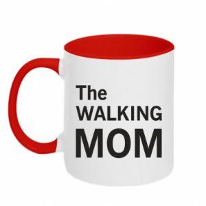 Kubek dwukolorowy The walking mom
