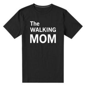 Men's premium t-shirt The walking mom