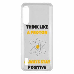 Etui na Xiaomi Mi A3 Think like a proton always stay positive