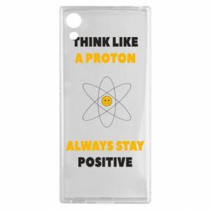 Etui na Sony Xperia XA1 Think like a proton always stay positive