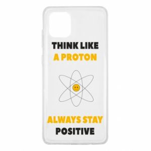 Etui na Samsung Note 10 Lite Think like a proton always stay positive