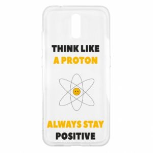 Etui na Nokia 2.3 Think like a proton always stay positive
