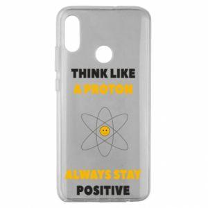 Etui na Huawei Honor 10 Lite Think like a proton always stay positive