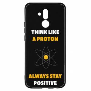 Etui na Huawei Mate 20 Lite Think like a proton always stay positive