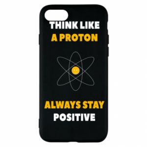 Etui na iPhone SE 2020 Think like a proton always stay positive