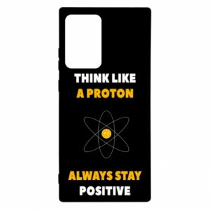 Etui na Samsung Note 20 Ultra Think like a proton always stay positive