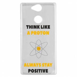 Etui na Sony Xperia XA2 Think like a proton always stay positive
